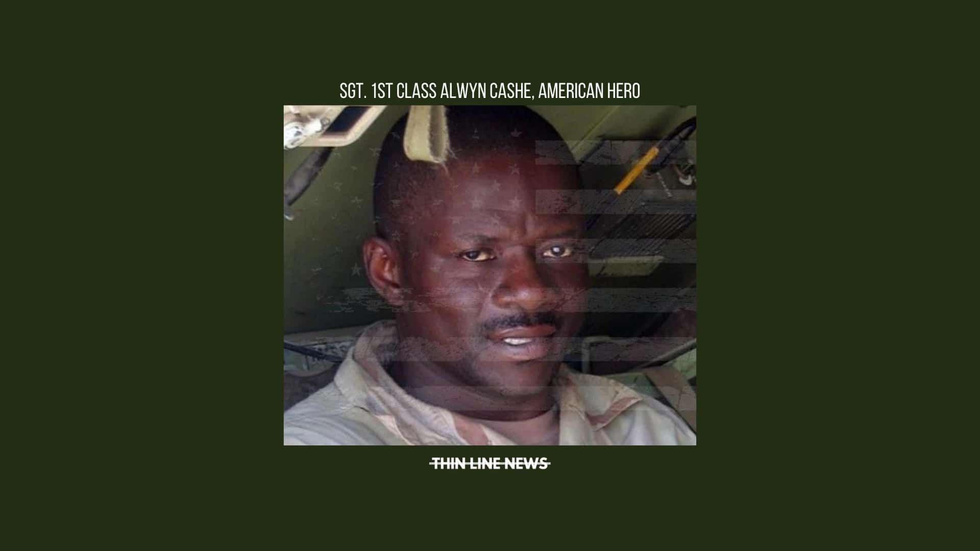 Honoring Sgt. 1st Class Alwyn Cashe