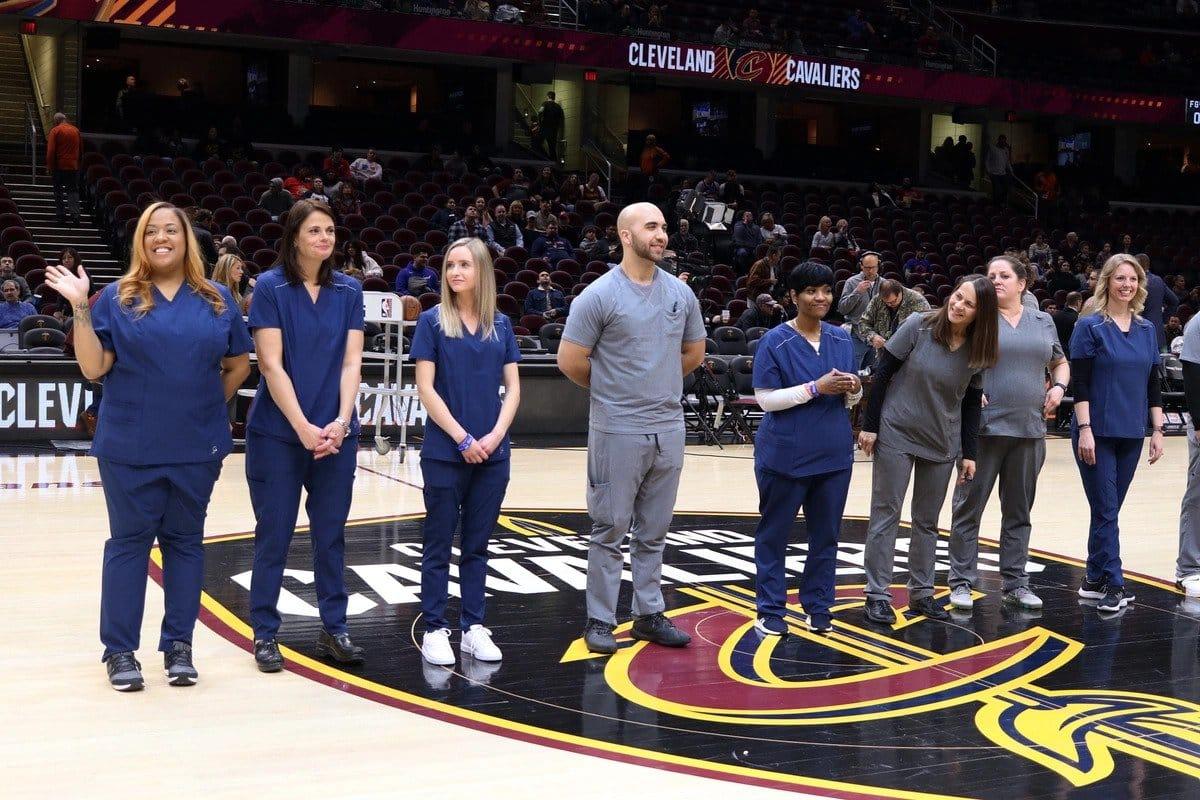 cleveland-cavaliers-nurse-night-2019