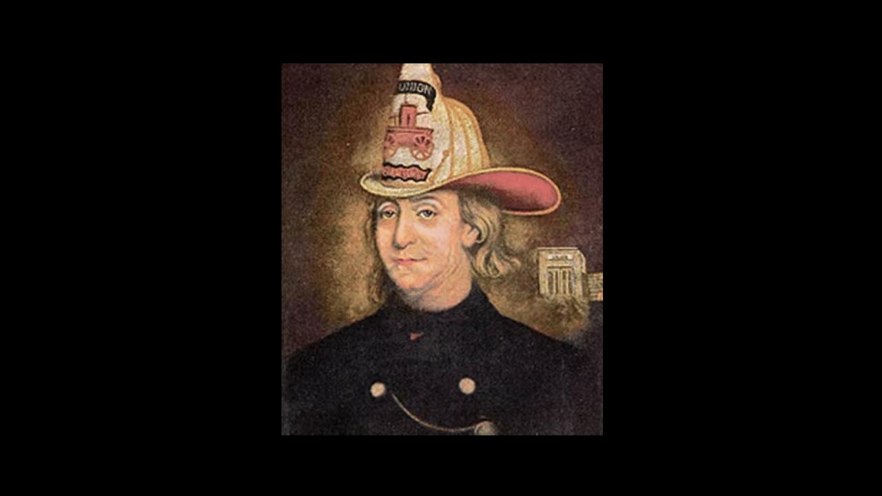 Benjamin Franklin, Union Fire Company Founder