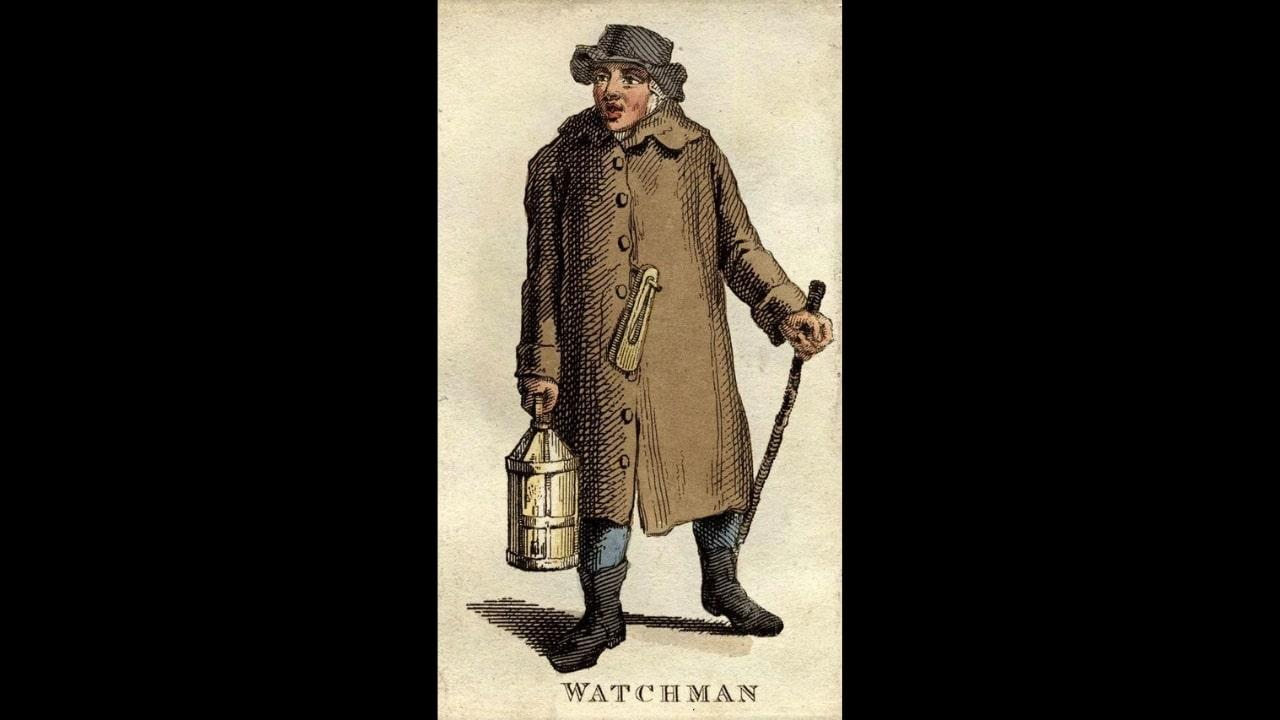 Nightwatchman - Courtesy of Bishopsgate.org.uk