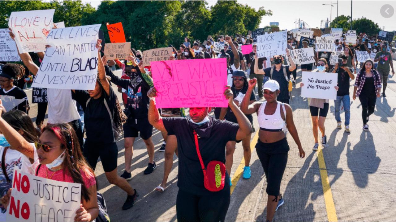 Texas Protestors
